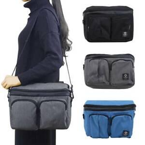 Hospital Mummy Bag Shoulder Bag Nappy Solid Color Handbag Large Capacity LI