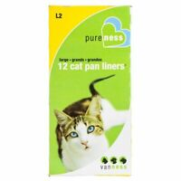 LM Van Ness Cat Pan Liners Large (12 Pack)