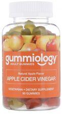 2 X Gummiology Apple Cider Vinegar Gummies ACV Gummy Goli Alt Immunity Detox 90