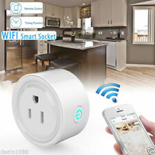 Smart Wi-Fi Remote Control Timer Switch Power Socket Outlet US Plug for Phones
