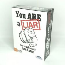 You Are A Liar (or maybe not) Fact or Fiction Guessing Party Card Adult Game