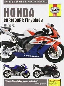 Honda CBR1000RR Service and Repair Manual: 2004 to 2006 (Haynes Service and Repa
