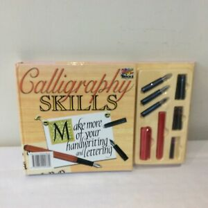 Calligraphy Skills (Art Tricks S) Hardcover Learn Flaw