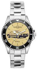 Geschenk für Lancia Montecarlo Oldtimer Fahrer Fans Kiesenberg Uhr 6393