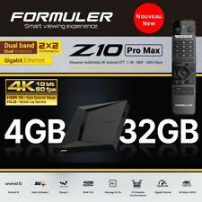 FORMULER Z10 PRO MAX OTT 4K UHD Android 10 Media Streamer 4Go/32Go WiFi Dual