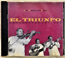Los Camperos de Valles El Triunfo Sones dela Huasteca CD Latin Spanish La Rosa