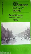 Old Ordnance Survey Map Smallthorne & East Tunstall Staffordshire 1922 S12.05