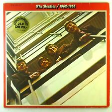"""2x 12"""" LP - The Beatles - 1962-1966 - D1019 - cleaned"""