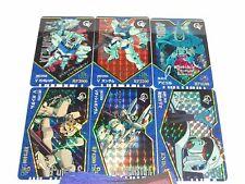 SD GUNDAM GV SERIES PART 1 CARDDASS REGULAR 36 + 6 PRISMS CARDS FULL SET