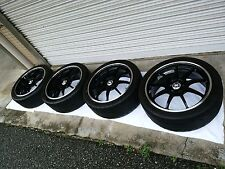 Toyota Scion FRS BRZ Enkei RSM9 18 inch car wheels set of 4 advan volk work