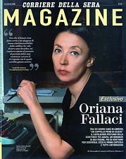 Magazine Corsera.Oriana Fallaci,mmm