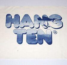 HANG TEN 70s T-SHIRT PRINT POSTER ART AD FLYING HANG GLIDER t&c skydiving wings