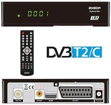 Edision progresivo Hybrid Lite LED FULLHD DVB-C/T Receptor Pantalla
