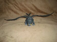 "How to Train Your Dragon Night Fury Toothless 2012 DWA PVC Figure 11"" L x 3"" t"