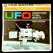 New 🎬Viewmaster Showtime🎬Gerry Anderson`s UFO🎬Factory sealed View-Master