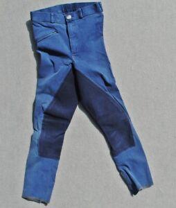 Euroriding Kinder Reithose Kinderreithose blau Vollbesatz Gr.152 siehe Maße!!