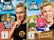 4 DVDs Sascha Grammel: je 2x Keine Anhung/Ahnung(NEU)+Hetz mich nicht !**SOFORT*