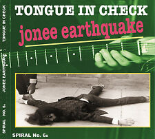 TONGUE IN CHECK by Jonee Earthquake CD Boston Punk Surf Rockabilly 90's