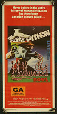 Monthy Python Live at the Hollywood Bowl - original daybill