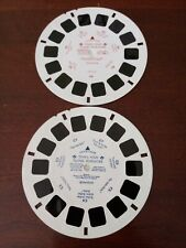 """""""Pooh's High Flying Adventures"""". View-master #36334-6019, 6039. Used condition."""