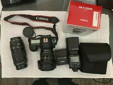 Canon EOS 5D Mark III 22.3MP Digital SLR Camera - Black (with EF L IS USM...