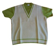 Knit 1960s Vintage Casual Shirts For Men For Sale Ebay