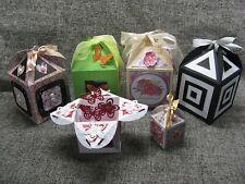 3-in-1 Delightful Dome/Pretty Petal/Lantern Gift Box - Brother Scan N Cut Files