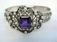 Bracelet Amethyst Vintage & Antique Jewellery