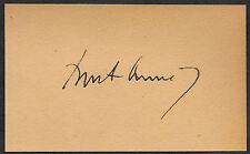 John F Kennedy JFK Autograph Reprint On Old 3x5 Card