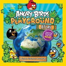 Atlas national geographic kids angry birds Elizabeth Carney 2016 Paperback book