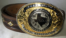 Texas Highway Patrol Association DPS Trooper Belt & Buckle