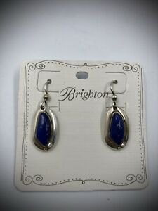 NWT Brighton The Power of MOTHER'S LOVE Blue Lapis French Wire Earrings