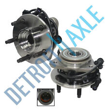 Set of (2) New Both Front Wheel Hub and Bearings for*FITS 4WD / 4X4 Only*w/ ABS