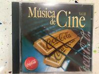 MUSICA DE CINE CD NUEVO VOL II BSO GLADIATOR ANASTASIA MATRIX CABARET BLUE VELVE
