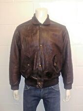 CHEVIGNON Authentic 100% Leather Jacket. Made in France Size Men's Medium