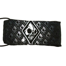 Wicked Sports Paintball Barrel Cover / Sock - Wicked Skulls - Gray