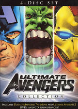 Ultimate Avengers Collection (DVD + CD Soundtrack, 2006) DVDs are NEW!