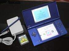 Nintendo DSi  Metallic Blue Handheld System Japan NTSC &  PKEMON Dash