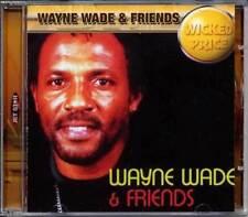 Wayne Wade & Friends Smooth Reggae Dancehall Music Charm Records Unused CD Album