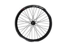 Deep V 43mm Rear Black Wheel for Fixie, Fixed Gear, Track, Single Speed Bike