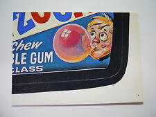 VINTAGE! 1986 Topps Wacky Packages Trading Card #4-Gadzooka-Bottom Right-BR