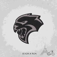 Jaguar Head  Logo Iron On Patch Sew On Embroidered Patch Badge