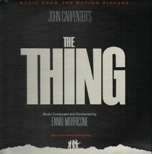 LP Ennio Morricone The Thing (Music From The Motion Picture) NEAR MINT MCA