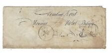 1856 France, Armee d Orient, Bau A Stampless, Handstamped 30 Rate