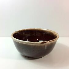 McCoy Brown Drip Glaze Pottery Bowl 7028 - 8.25 inches