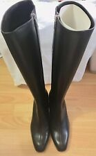 Theory Knee High Chocolate Brown Boots New 39.5/ 8.5 US $550