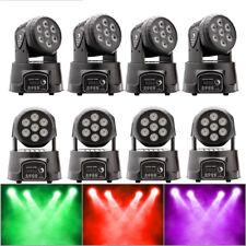 8PCS 105W RGBW LED Moving Head Stage Spot Lighting DMX Club Disco DJ Party Light