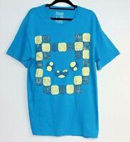 Adventure Time Men's Lootwear Blue T-Shirt Size L