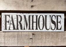 FARMHOUSE rustic farmhouse wood sign fixer upper kitchen farmhouse sign crackle