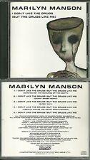 RARE / CD - MARILYN MANSON : I DON' T LIKE THE DRUGS